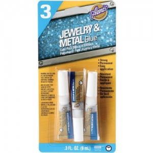 Shop Tools! Aleene's Jewelry & Metal Glue 3 Pack | Shop Jewelry Making and Beading Supplies. #jewelrymaking #diy #diyjewelry #product #crafting #craft