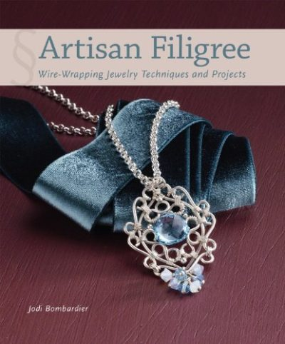 Shop Books About Jewelry Making! Artisan Filigree: Wire-Wrapping Jewelry Techniques and Projects | Shop jewelry making and beading supplies, tools & findings for DIY jewelry making and crafts. #jewelrymaking #diyjewelry #jewelrycrafts #jewelrysupplies #beading #affiliate #ad