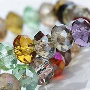Assorted Faceted Crystal Beads