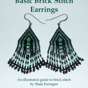 Basic Brick Stitch Earrings | Shop jewelry making and beading supplies, tools & findings for DIY jewelry making and crafts. #jewelrymaking #diyjewelry #jewelrycrafts #jewelrysupplies #beading #affiliate #ad