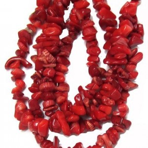 Bead Collection 40289 Coral Chips Red Beads, 26-Inch | Shop jewelry making and beading supplies, tools & findings for DIY jewelry making and crafts. #jewelrymaking #diyjewelry #jewelrycrafts #jewelrysupplies #beading #affiliate #ad