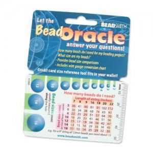 Shop Tools! Bead Oracle Wallet Card | Shop Jewelry Making and Beading Supplies. #jewelrymaking #diy #diyjewelry #product #crafting #craft