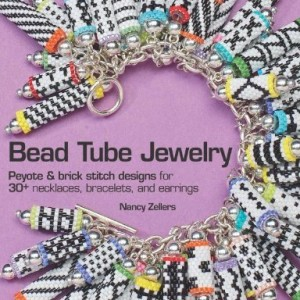 Bead Tube Jewelry: Peyote and brick stitch designs for 30+ necklaces, bracelets, and earrings | Shop jewelry making and beading supplies for DIY jewelry making and crafts. #jewelrymaking #diyjewelry #jewelrycrafts #jewelrysupplies #beading #affiliate