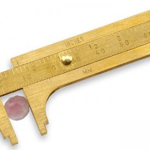 Beadalon Slide 60mm Bead Gauge