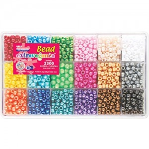 Beadery Bead Extravaganza Bead Box Kit, 19.75-Ounce, Pearl | Shop jewelry making and beading supplies, tools & findings for DIY jewelry making and crafts. #jewelrymaking #diyjewelry #jewelrycrafts #jewelrysupplies #beading #affiliate #ad