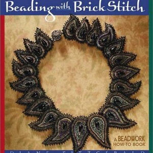 Beading with Brick Stitch (Beadwork How-To) | Shop jewelry making and beading supplies, tools & findings for DIY jewelry making and crafts. #jewelrymaking #diyjewelry #jewelrycrafts #jewelrysupplies #beading #affiliate #ad