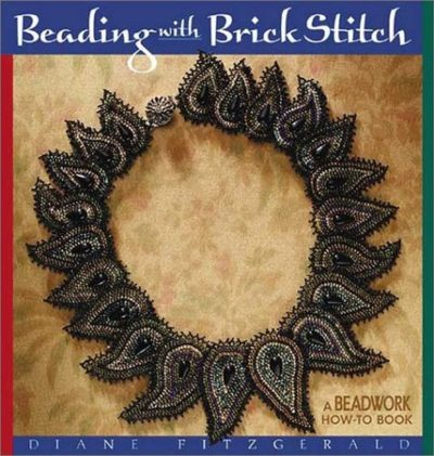 Shop Books About Jewelry Making! Beading with Brick Stitch (Beadwork How-To) | Shop jewelry making and beading supplies, tools & findings for DIY jewelry making and crafts. #jewelrymaking #diyjewelry #jewelrycrafts #jewelrysupplies #beading #affiliate #ad