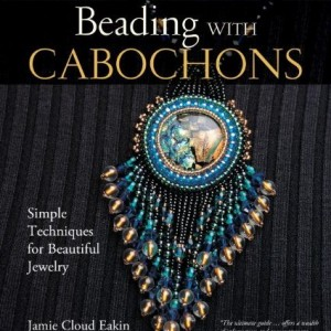Shop Learn Beading - Books, Kits & Tutorials! Beading with Cabochons: Simple Techniques for Beautiful Jewelry | Shop jewelry making and beading supplies, tools & findings for DIY jewelry making and crafts. #jewelrymaking #diyjewelry #jewelrycrafts #jewelrysupplies #beading #affiliate #ad