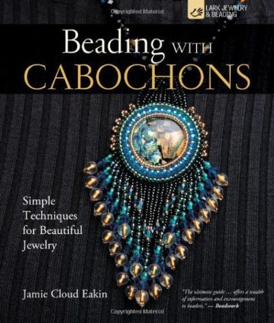 Shop Books About Jewelry Making! Beading with Cabochons: Simple Techniques for Beautiful Jewelry | Shop jewelry making and beading supplies, tools & findings for DIY jewelry making and crafts. #jewelrymaking #diyjewelry #jewelrycrafts #jewelrysupplies #beading #affiliate #ad