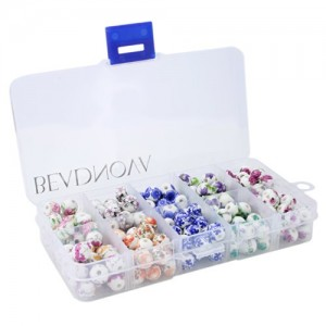 Beadnova 8mm Traditional Chinese Stlye Theme Flower Ceramic Beads Porcelain China Beads Assortment Mix Lot | Shop jewelry making and beading supplies, tools & findings for DIY jewelry making and crafts. #jewelrymaking #diyjewelry #jewelrycrafts #jewelrysupplies #beading #affiliate #ad