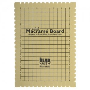 Beadsmith Mini Macrame Board | Shop jewelry making and beading supplies, tools & findings for DIY jewelry making and crafts. #jewelrymaking #diyjewelry #jewelrycrafts #jewelrysupplies #beading #affiliate #ad