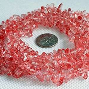 CHERRY QUARTZ 4-10mm Gemstone Nugget Chip Loose Beads 34″ Full Strand Birthstone | Shop jewelry making and beading supplies, tools & findings for DIY jewelry making and crafts. #jewelrymaking #diyjewelry #jewelrycrafts #jewelrysupplies #beading #affiliate #ad