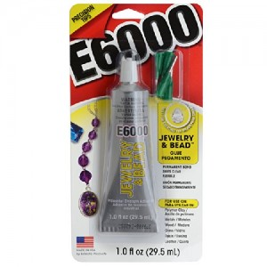 E6000 Jewelry And Bead Adhesive With 4 Precision Applicator Tips For Jewelry!