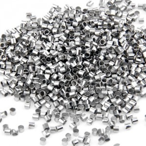 Ecloud Shop® 1000 Silver Plated Crimp Tube Beads Spacer Stopper 2mm FASHION