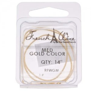 French Wire (Bullion) Gold Color Med – 14 Inch | Shop jewelry making and beading supplies, tools & findings for DIY jewelry making and crafts. #jewelrymaking #diyjewelry #jewelrycrafts #jewelrysupplies #beading #affiliate #ad