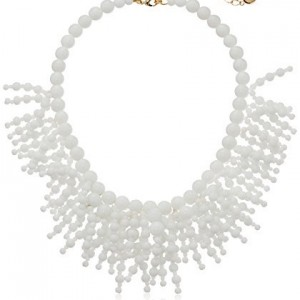 "kate spade new york ""Fringe Appeal"" White Necklace, 16""+3"" Extender 
