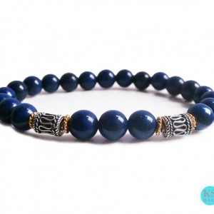 Shop Lapis Lazuli Bracelets! Men's Gray Jasper Bracelet, Gray Jasper and Gold Vermeil Bracelet, Men's Gray Bracelet, Men's Gold Bracelet, For Man, Bracelet for Man | Natural genuine Lapis Lazuli bracelets. Buy crystal jewelry, handmade handcrafted artisan jewelry for women.  Unique handmade gift ideas. #jewelry #beadedbracelets #beadedjewelry #gift #shopping #handmadejewelry #fashion #style #product #bracelets #affiliate #ad