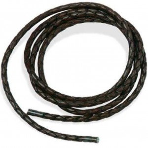 Leather Bolo Cord Black String Leathercraft Design Craft Tandy Leather 11234-01