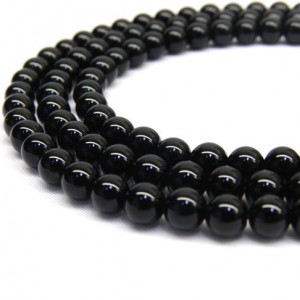 Shop Onyx Round Beads! Black Onyx, 8mm Beads, Black Onyx Beads, 8mm Gemstone Beads, 6mm Beads, Black Beads, 8mm Black Beads, 8mm Round Beads, 6mm Gemstones Beads | Natural genuine round Onyx beads for beading and jewelry making.  #jewelry #beads #beadedjewelry #diyjewelry #jewelrymaking #beadstore #beading #affiliate #ad