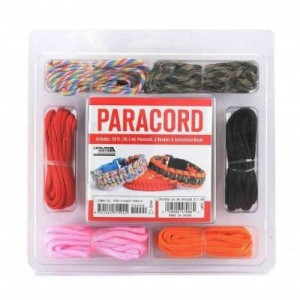 Paracord Bracelet Kit | Shop jewelry making and beading supplies, tools & findings for DIY jewelry making and crafts. #jewelrymaking #diyjewelry #jewelrycrafts #jewelrysupplies #beading #affiliate #ad