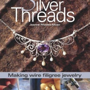 Shop Learn Beading - Books, Kits & Tutorials! Silver Threads: Making Wire Filigree Jewelry | Shop jewelry making and beading supplies, tools & findings for DIY jewelry making and crafts. #jewelrymaking #diyjewelry #jewelrycrafts #jewelrysupplies #beading #affiliate #ad