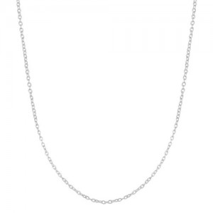 Sterling Silver 1.2mm Round Cable Chain (16 inch)