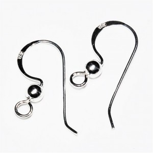Shop Ear Wires & Posts for Making Earrings! Sterling Silver Earwire | Shop jewelry making and beading supplies, tools & findings for DIY jewelry making and crafts. #jewelrymaking #diyjewelry #jewelrycrafts #jewelrysupplies #beading #affiliate #ad
