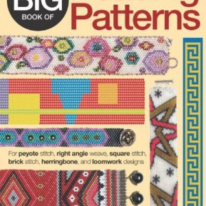 The Big Book of Beading Patterns: For Peyote Stitch, Square Stitch, Brick Stitch, and Loomwork Designs | Shop jewelry making and beading supplies, tools & findings for DIY jewelry making and crafts. #jewelrymaking #diyjewelry #jewelrycrafts #jewelrysupplies #beading #affiliate #ad