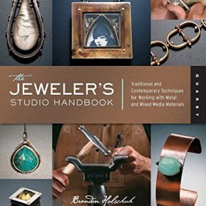 Shop Learn Beading - Books, Kits & Tutorials! The Jeweler's Studio Handbook: Traditional and Contemporary Techniques for Working with Metal and Mixed Media Materials (Studio Handbook Series) | Shop jewelry making and beading supplies, tools & findings for DIY jewelry making and crafts. #jewelrymaking #diyjewelry #jewelrycrafts #jewelrysupplies #beading #affiliate #ad