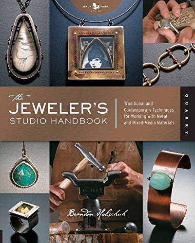 Shop Books About Jewelry Making! The Jeweler's Studio Handbook: Traditional and Contemporary Techniques for Working with Metal and Mixed Media Materials (Studio Handbook Series) | Shop jewelry making and beading supplies, tools & findings for DIY jewelry making and crafts. #jewelrymaking #diyjewelry #jewelrycrafts #jewelrysupplies #beading #affiliate #ad