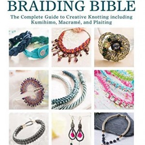 Shop Learn Beading - Books, Kits & Tutorials! The Knotting & Braiding Bible: The Complete Guide to Creative Knotting Including Kumihimo, Macrame and Plaiting | Shop jewelry making and beading supplies for DIY jewelry making and crafts. #jewelrymaking #diyjewelry #jewelrycrafts #jewelrysupplies #beading #affiliate