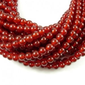 Shop Carnelian Beads! Carnelian Beads, Round, 6mm (6.3 mm), 15.5 Inch, Full strand, Approx 62 beads, Hole 1 mm, A quality (182054002) | Natural genuine beads Carnelian beads for beading and jewelry making.  #jewelry #beads #beadedjewelry #diyjewelry #jewelrymaking #beadstore #beading #affiliate #ad