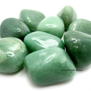 One Jumbo Aventurine Tumbled Stone, Metaphysical, Crystals, Feng Shui, Pocket Stones, Crystal Healing, Green Stones