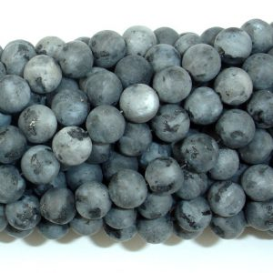 Shop Labradorite Round Beads! Matte Black Labradorite Beads, Matte Larvikite, 6mm (6.5 mm) Round Beads, 15 Inch, Full strand, Approx 61 beads, Hole 1 mm (137054008) | Natural genuine round Labradorite beads for beading and jewelry making.  #jewelry #beads #beadedjewelry #diyjewelry #jewelrymaking #beadstore #beading #affiliate #ad
