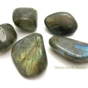 Shop Tumbled Labradorite Crystals & Pocket Stones! Labradorite Tumbled Stone, Crystal Healing, Rock Hound, Feng Shui, Arts & Crafts, Reiki, Meditation, Wire Wrapping, Gemstones, | Natural genuine stones & crystals in various shapes & sizes. Buy raw cut, tumbled, or polished gemstones for making jewelry or crystal healing energy vibration raising reiki stones. #crystals #gemstones #crystalhealing #crystalsandgemstones #energyhealing #affiliate #ad