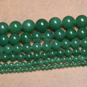Shop Aventurine Round Beads! Aventurine Beads Natural Green Semi Precious Stone 4mm 6mm 8mm 10mm 12mm 14mm Smooth/ Faceted Beads Sold by Strand | Natural genuine round Aventurine beads for beading and jewelry making.  #jewelry #beads #beadedjewelry #diyjewelry #jewelrymaking #beadstore #beading #affiliate #ad