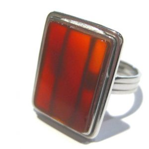 Shop Carnelian Rings! carnelian ring | Natural genuine Carnelian rings, simple unique handcrafted gemstone rings. #rings #jewelry #shopping #gift #handmade #fashion #style #affiliate #ad