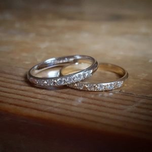 Genuine Diamond Wedding Band for Women, April Birthstone Ring, Delicate Organic Twig Ring, Unique Gold Wedding Ring. Dainty Anniversary Ring | Natural genuine Diamond rings, simple unique alternative gemstone engagement rings. #rings #jewelry #bridal #wedding #jewelryaccessories #engagementrings #weddingideas #affiliate #ad