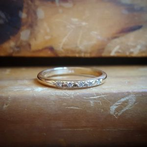 Diamond Wedding Band Women, 14K Gold Twig Ring, Diamond Band, Branch Wedding Bands Women, Stacking Ring, Delicate Ring, Unique Wedding Ring | Natural genuine Array jewelry. Buy handcrafted artisan wedding jewelry.  Unique handmade bridal jewelry gift ideas. #jewelry #beadedjewelry #gift #crystaljewelry #shopping #handmadejewelry #wedding #bridal #jewelry #affiliate #ad