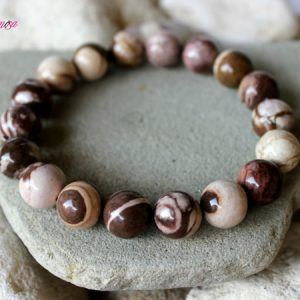 Shop Jasper Bracelets! 12mm Zebra Jasper Bracelet, Australian Jasper Bracelet, Zebra Jasper Jewelry, Chakra Bracelet, Zebra Jasper Wrist Mala, Aries Sign Bracelet | Natural genuine Jasper bracelets. Buy crystal jewelry, handmade handcrafted artisan jewelry for women.  Unique handmade gift ideas. #jewelry #beadedbracelets #beadedjewelry #gift #shopping #handmadejewelry #fashion #style #product #bracelets #affiliate #ad
