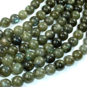 Shop Labradorite Round Beads! Labradorite Beads, 10mm Round Beads, 15 Inch, Full strand, Approx 39 beads, Hole 1mm (295054027) | Natural genuine round Labradorite beads for beading and jewelry making.  #jewelry #beads #beadedjewelry #diyjewelry #jewelrymaking #beadstore #beading #affiliate #ad
