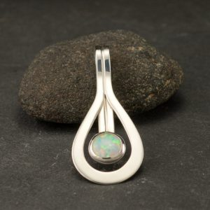 Shop Opal Jewelry! Opal Pendant- Opal Necklace- Sterling Silver Necklace with Opal- Opal Jewelry- Opal Gemstone Necklace | Natural genuine Opal jewelry. Buy crystal jewelry, handmade handcrafted artisan jewelry for women.  Unique handmade gift ideas. #jewelry #beadedjewelry #beadedjewelry #gift #shopping #handmadejewelry #fashion #style #product #jewelry #affiliate #ad
