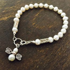 Shop Pearl Bracelets! White Bracelet – Pearl Gemstone Jewelry – Beaded Jewelery – Dainty – Sterling Silver – Fashion – Angel – Wedding | Natural genuine Pearl bracelets. Buy handcrafted artisan wedding jewelry.  Unique handmade bridal jewelry gift ideas. #jewelry #beadedbracelets #gift #crystaljewelry #shopping #handmadejewelry #wedding #bridal #bracelets #affiliate #ad
