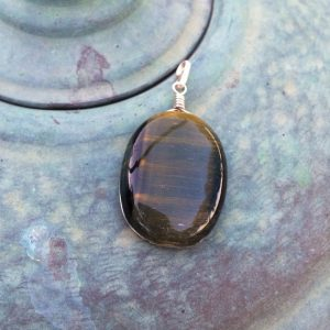 Shop Tiger Eye Jewelry! Tiger eye pendant, mens pendant, oval tiger eye silver pendant, minimalist gemstone pendant, rustic necklace, Boho, surf, gift for men, Gift | Natural genuine Tiger Eye jewelry. Buy handcrafted artisan men's jewelry, gifts for men.  Unique handmade mens fashion accessories. #jewelry #beadedjewelry #beadedjewelry #shopping #gift #handmadejewelry #jewelry #affiliate #ad