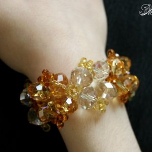 Shop Topaz Bracelets! Statement Crystal Bracelet, Victorian Bracelet, Topaz Crystal Bracelet, Gold Crystal Bracelet, Bridal Wedding Bracelet, Cocktail Bracelet | Natural genuine Topaz bracelets. Buy handcrafted artisan wedding jewelry.  Unique handmade bridal jewelry gift ideas. #jewelry #beadedbracelets #gift #crystaljewelry #shopping #handmadejewelry #wedding #bridal #bracelets #affiliate #ad