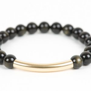 Shop Golden Obsidian Bracelets! Golden Obsidian Bracelet, Gemstone Protection Bracelet, Handmade Gemstone Jewelry, Gemstone Bracelet | Natural genuine Golden Obsidian bracelets. Buy crystal jewelry, handmade handcrafted artisan jewelry for women.  Unique handmade gift ideas. #jewelry #beadedbracelets #beadedjewelry #gift #shopping #handmadejewelry #fashion #style #product #bracelets #affiliate #ad