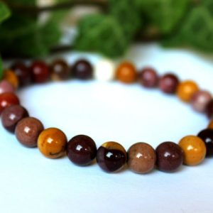 8 Mm Mookaite Jasper Bracelet, Mookaite Bracelet, Mookaite Wrist Mala, Jasper Wrist Mala, Mookaite Jasper Bracelet, Chakra Bracelet, Jasper | Natural genuine Gemstone bracelets. Buy crystal jewelry, handmade handcrafted artisan jewelry for women.  Unique handmade gift ideas. #jewelry #beadedbracelets #beadedjewelry #gift #shopping #handmadejewelry #fashion #style #product #bracelets #affiliate #ad