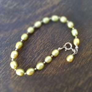 Shop Pearl Bracelets! Pearl Bracelet – Green Jewelry – Gemstone Jewellery – Beaded – Sterling Silver – Fashion | Natural genuine Pearl bracelets. Buy crystal jewelry, handmade handcrafted artisan jewelry for women.  Unique handmade gift ideas. #jewelry #beadedbracelets #beadedjewelry #gift #shopping #handmadejewelry #fashion #style #product #bracelets #affiliate #ad