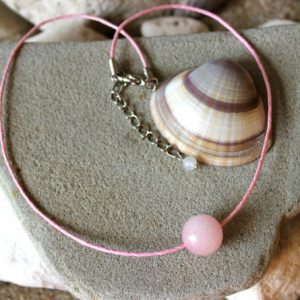 Shop Rose Quartz Necklaces! Rose Quartz Choker, Rose Quartz Necklace, Pink Choker, Heart Chakra Necklace, Boho Choker, Pink Bead Choker, Teen Choker, One Bead Choker | Natural genuine gemstone jewelry in modern, chic, boho, elegant styles. Buy crystal handmade handcrafted artisan art jewelry & accessories. #jewelry #beaded #beadedjewelry #product #gifts #shopping #style #fashion #product