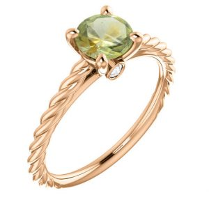 Shop Unique Sapphire Engagement Rings! Montana Sapphire Engagement Ring; Genuine Round Sapphire In Solid 14k Rose, White, Or Yellow Real Gold, American Gemstone In Twist Band | Natural genuine Sapphire rings, simple unique alternative gemstone engagement rings. #rings #jewelry #bridal #wedding #jewelryaccessories #engagementrings #weddingideas #affiliate #ad